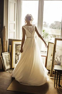 Benjamin Roberts wedding dress