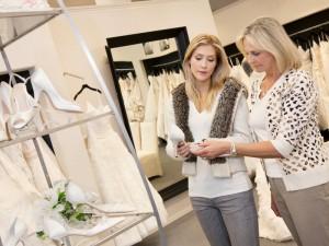 Choosing a Wedding Dress Shop