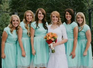 Tiffany Bridesmaid Dresses